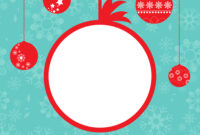 Christmas Card Template within Adobe Illustrator Christmas Card Template