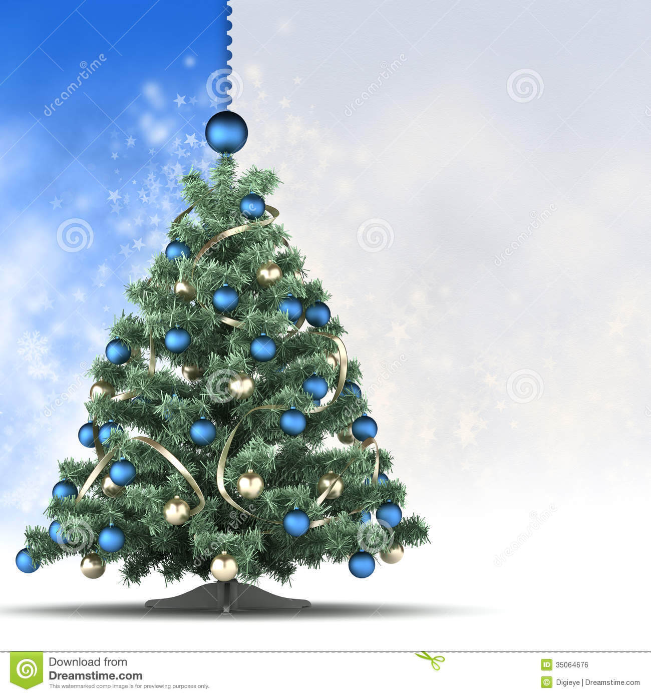 Christmas Card Template – Xmas Tree And Blank Space For Text For Blank Christmas Card Templates Free