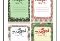 Christmas Gift Printable Bookplates   Woo! Jr. Kids Activities throughout Bookplate Templates For Word