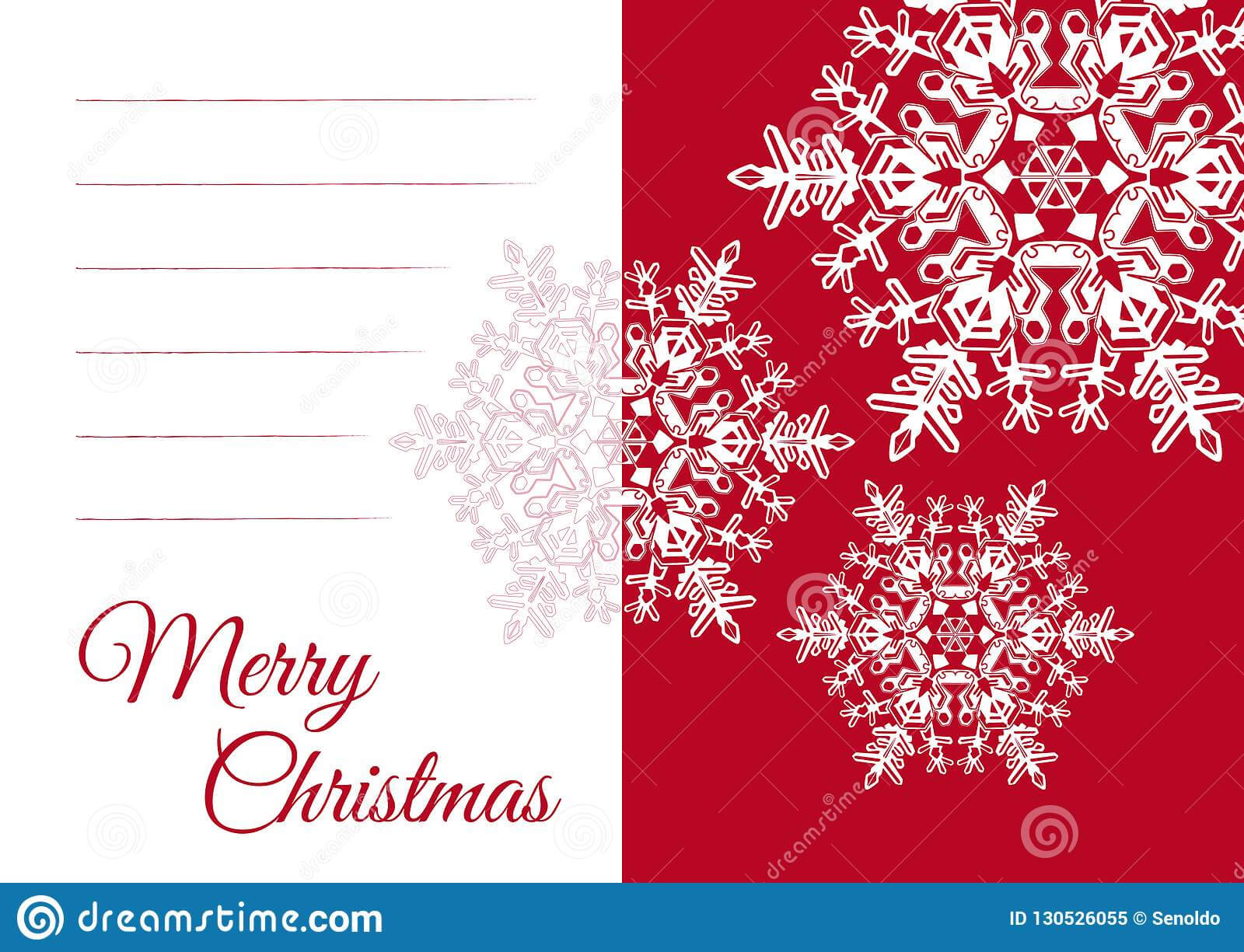 Christmas Greeting Card Template With Blank Text Field Stock With Regard To Blank Christmas Card Templates Free