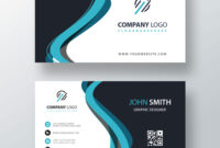 Classic Company Visiting Card Template | Free Customize intended for Buisness Card Template