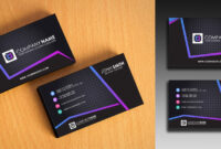 Clean And Simple Business Card Template pertaining to Buisness Card Templates