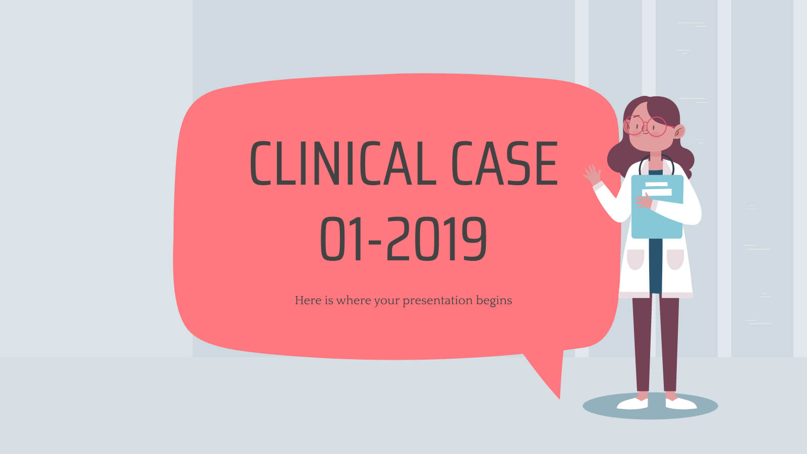 Clinical Case 01 2019 - Free Presentation Template For In Case Presentation Template