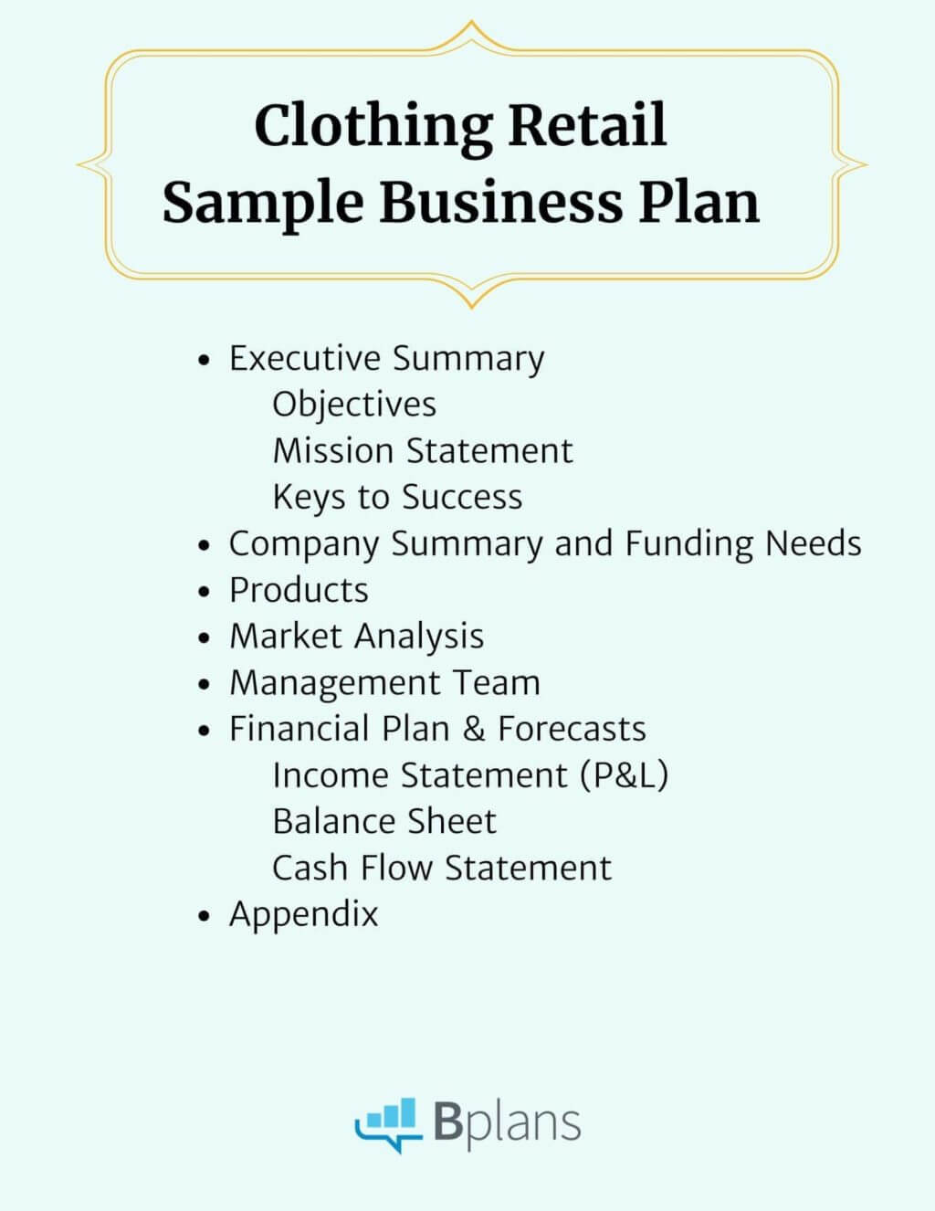 Clothing Retail Sample Business Plan Within Business Plan Template For Clothing Line