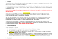 Coaching Agreement Template – Easy Legal Templates in Business Coaching Contract Template
