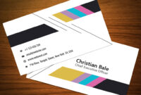 Colorful Business Card Template Free Download – Freedownload in Christian Business Cards Templates Free