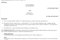 Commercial Sublease Agreement Template (Us) | Lawdepot in Business Lease Agreement Template