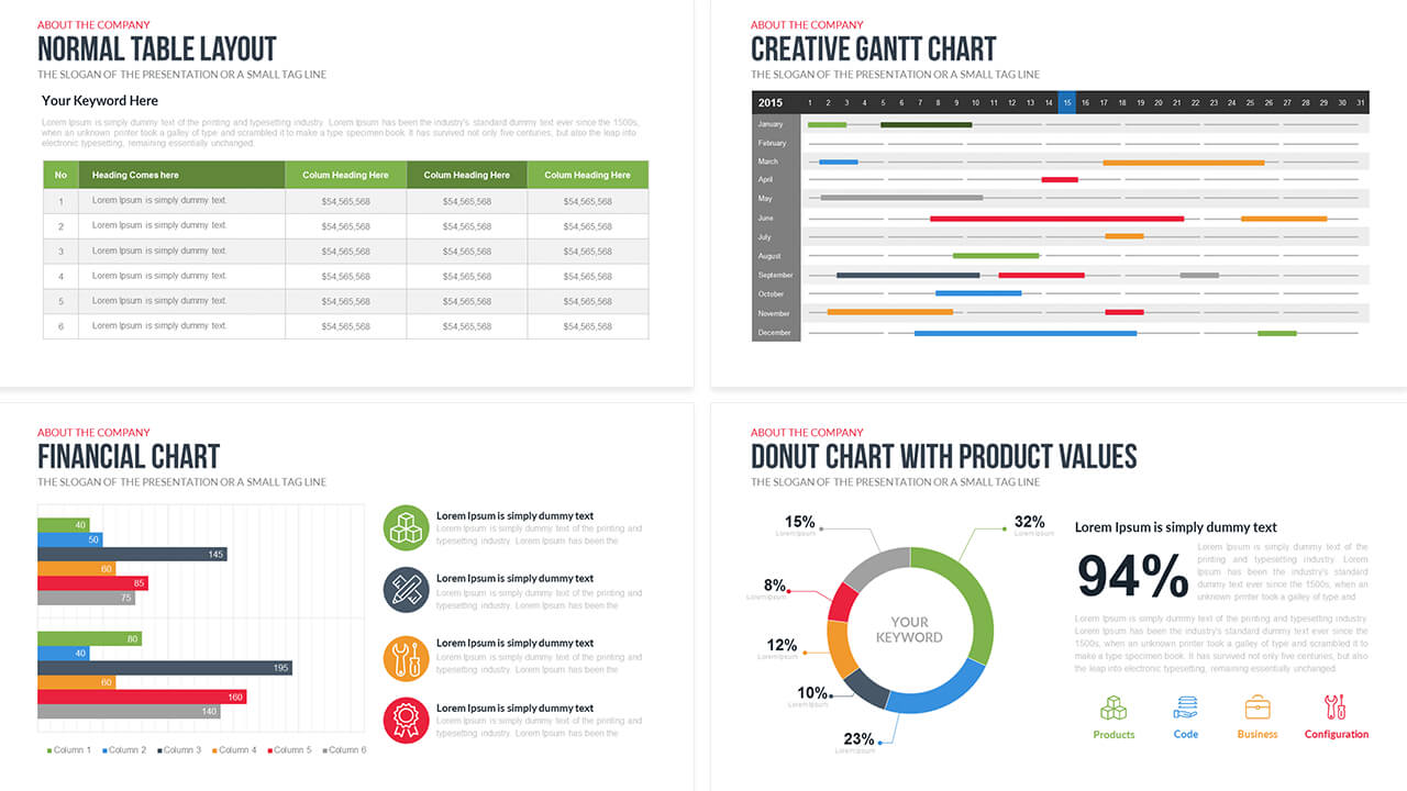 Company Profile Powerpoint Template Free – Slidebazaar Pertaining To Business Profile Template Ppt