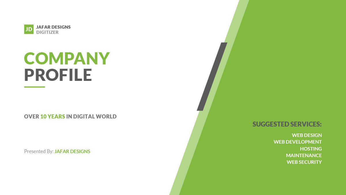 Company Profile Powerpoint Template Throughout Business Profile Template Ppt