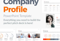 Company Profile – Presentation Powerpoint Template Pptx intended for Business Profile Template Ppt
