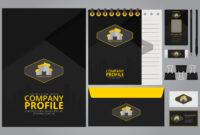 Company Profile Template, Free Company Profile Template with Business Profile Template Free Download