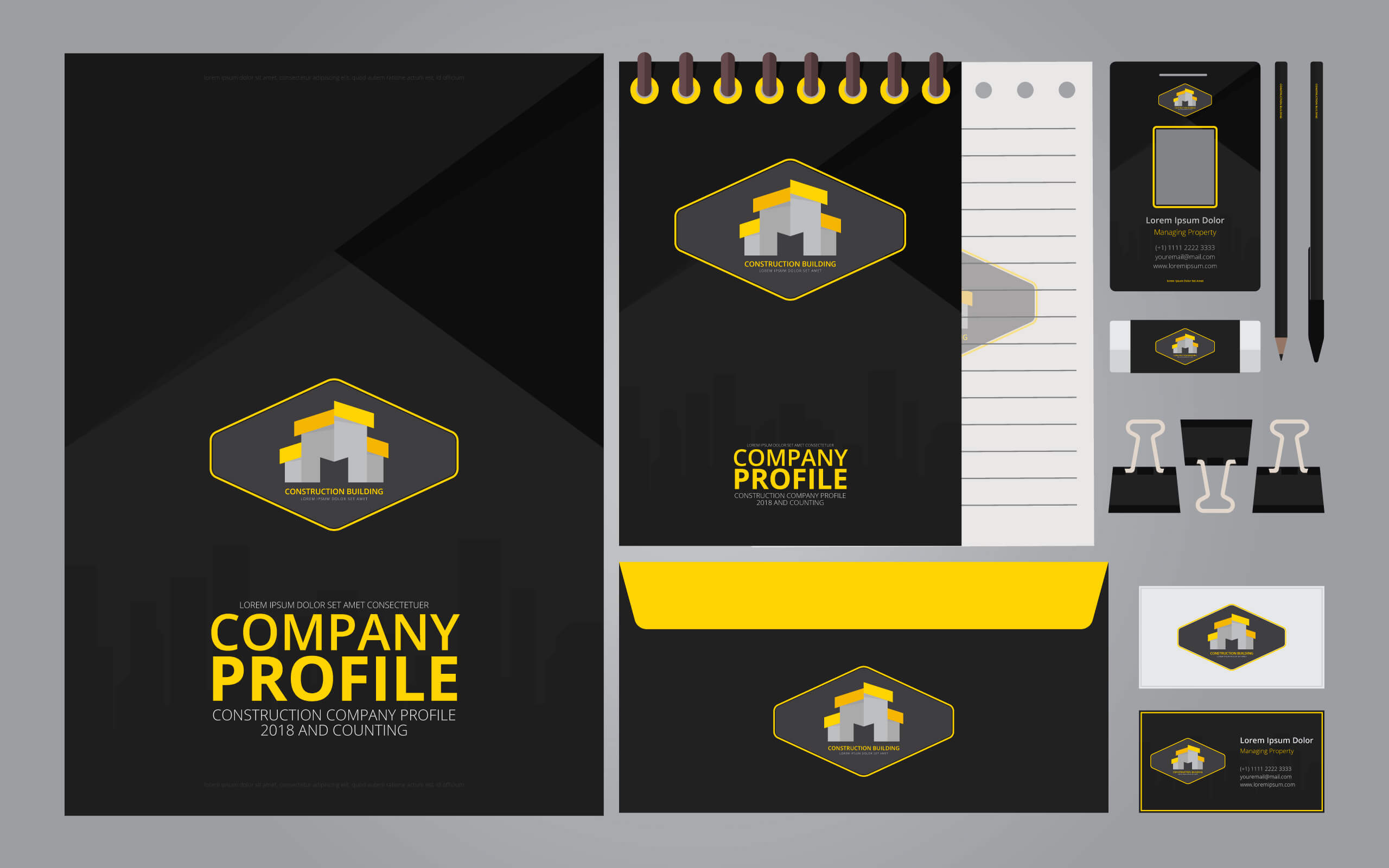 Company Profile Template, Free Company Profile Template With Business Profile Template Free Download