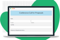 Conference Call For Proposals Template | Formstack intended for Call For Proposals Template