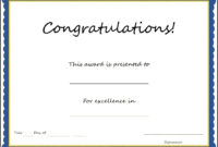 Congratulations Certificates Templates – Tunu.redmini.co throughout Attendance Certificate Template Word