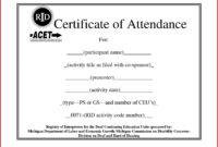 Continuing Education Certificate Template – Carlynstudio for Ceu Certificate Template