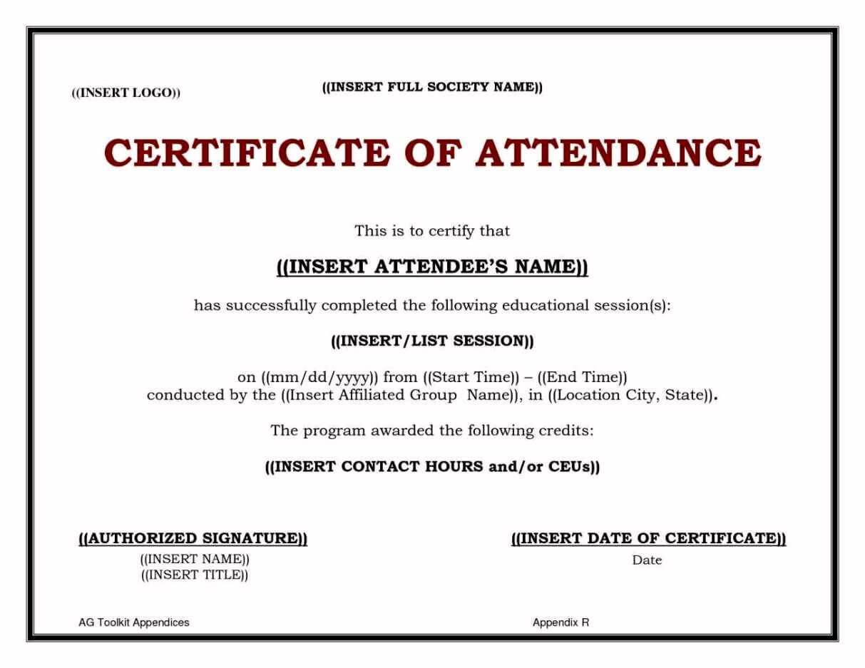 Continuing Education Certificate Template - Tunu.redmini.co Regarding Ceu Certificate Template