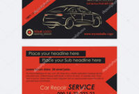 Cool Automotive Business Cards | Auto Repair Business Card in Automotive Business Card Templates