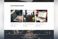 Corporate Business Website Template Free Psd – Download Psd within Business Website Templates Psd Free Download