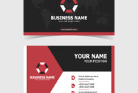 Corporate Double-Sided Business Card Template regarding 2 Sided Business Card Template Word