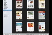 Create A Holiday Newsletter With Pages Or Iphoto | Macworld within Business Card Template Pages Mac
