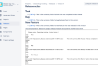 Creating Release Notes – Atlassian Documentation inside Build Release Notes Template