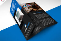 Creative Agency Trifold Brochure Free Psd Template within Brochure Psd Template 3 Fold