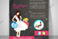 Creative Boutique Vector & Photo (Free Trial) | Bigstock intended for Boutique Flyer Template Free