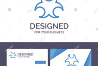 Creative Business Card And Logo Template Bio, Hazard, Sign within Bio Card Template