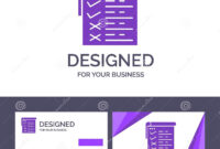 Creative Business Card And Logo Template Checklist, Testing pertaining to Acceptance Card Template