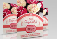Cupcake Flyer Templateowpictures On Dribbble within Cake Flyer Template Free