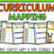 Curriculum Mapping – Grab A Free, Editable Template Now! For Blank Curriculum Map Template