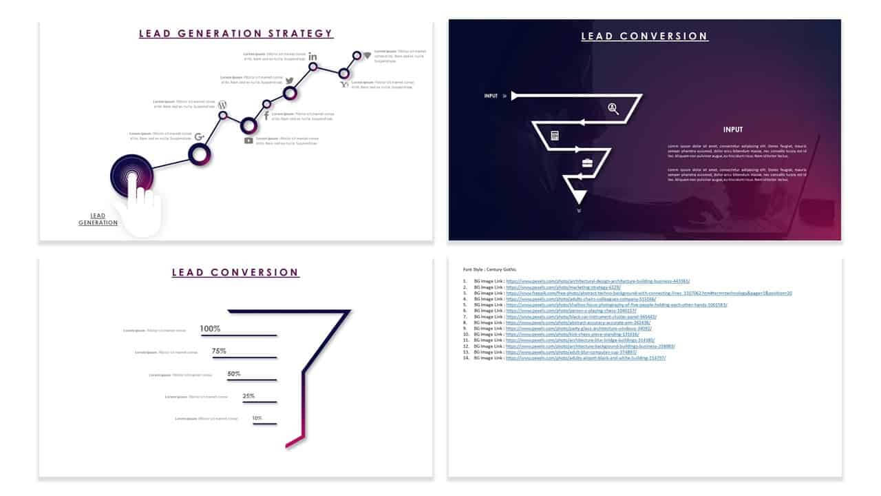 Customer Acquisition Strategy Template For Powerpoint In Acquisition Strategy Template