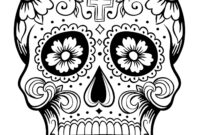 Day Of The Dead Blank Template – Imgflip intended for Blank Sugar Skull Template