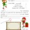 Dear Santa Fill In Letter Template – Intended For Blank Letter Writing Template For Kids