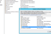 Deploying 8021.x Eap-Tls With Polycom Vvx Phones Part 2/2 pertaining to Certificate Authority Templates