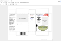 Design A Cereal Box In Google Drawing: Book Report Idea inside Cereal Box Book Report Template