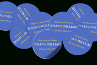 Designing Round & Oval Labels With Word for 4 X 2.5 Label Template