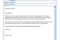 Doc-Business-Email-Templates-Pdf pertaining to Business Email Template Pdf