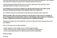 Donation Request Letters: Asking For Donations Made Easy! regarding Business Donation Letter Template