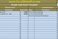 Download Cash Book Excel Template – Exceldatapro pertaining to Business Ledger Template Excel Free