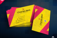 Download] Creative Business Card Free Psd | Psddaddy with regard to Business Card Size Psd Template
