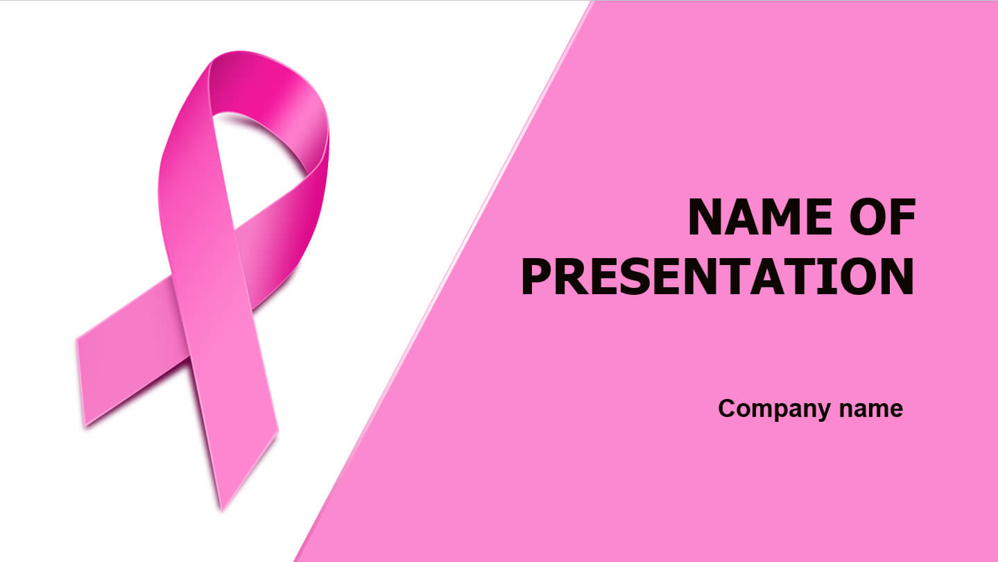 Download Free Breast Cancer Powerpoint Template And Theme Within Breast Cancer Powerpoint Template