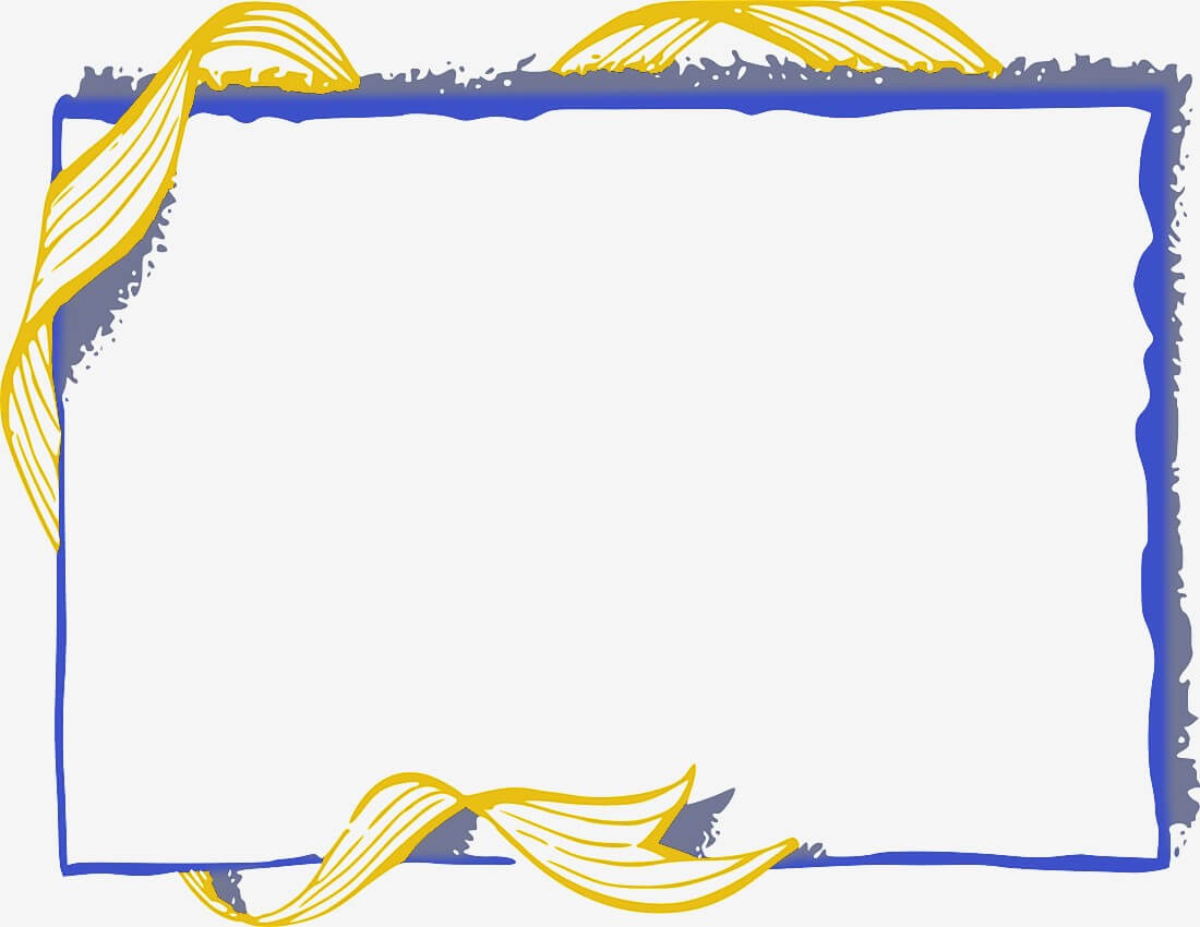 Download Free Png Certificate Border Template Volleyball With Award Certificate Border Template