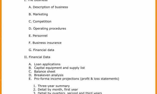 Download Valid Quick Business Plan E Free Can Save At Plans within Business Plan Template Free Word Document