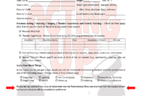 Editable Audition Form – Fill Online, Printable, Fillable within Audition Form Template