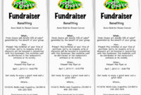 Editable Free Fundraising Brochure Templates Inspirational with regard to Benefit Flyer Template Free