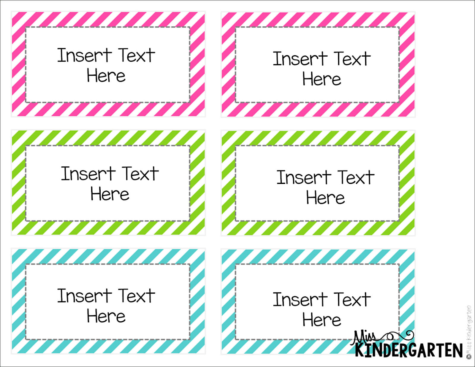 Editable Word Wall Templates! - Miss Kindergarten With Blank Word Wall Template Free