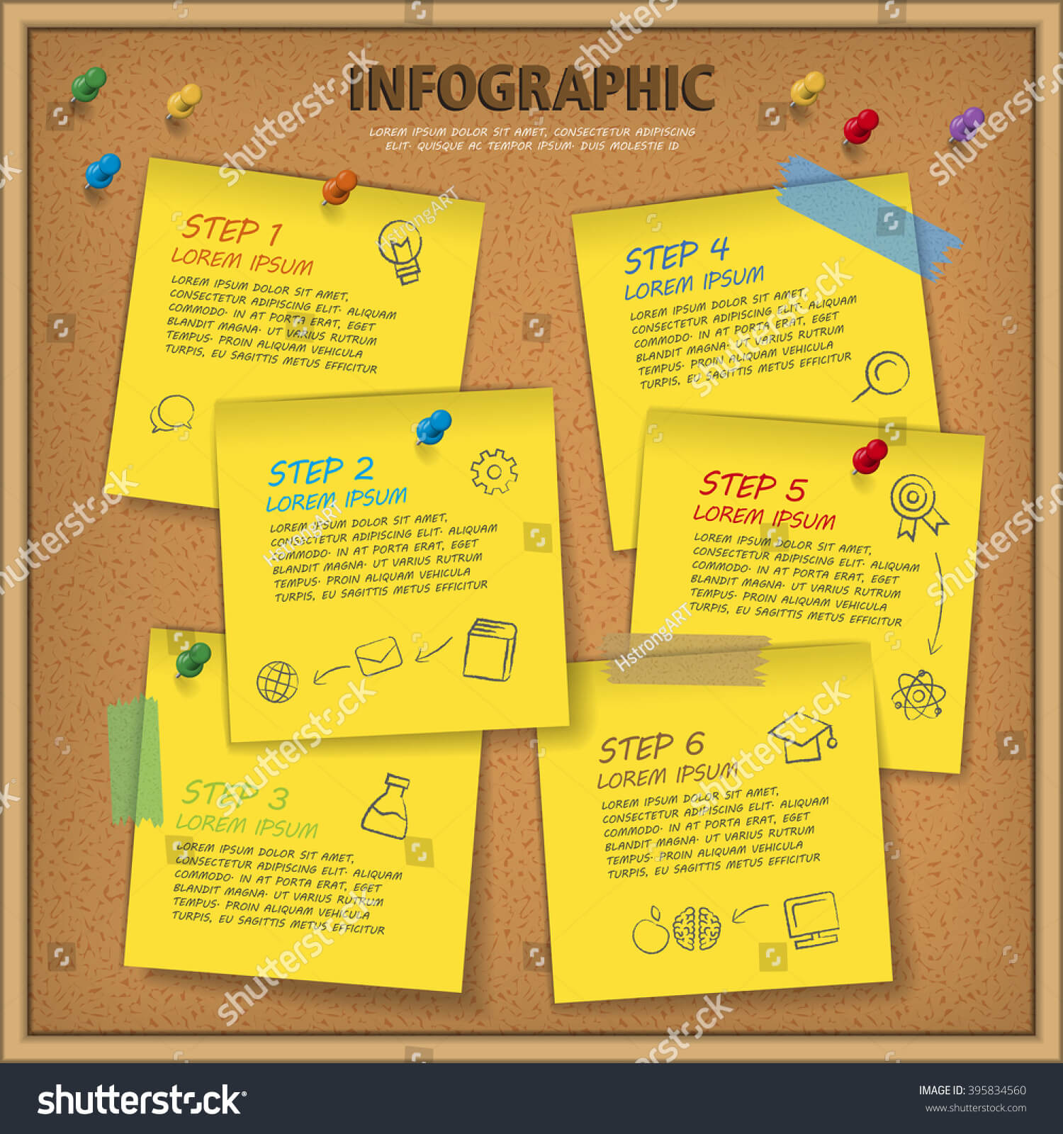 Education Infographic Template Design Bulletin Board Stock With Bulletin Board Flyer Template