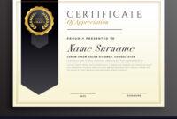 Elegant Diploma Award Certificate Template Design regarding Academic Award Certificate Template