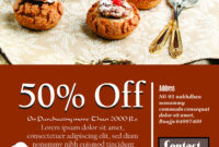 Engaging Free Bake Sale Flyer Templates For Fundraising pertaining to Bake Off Flyer Template